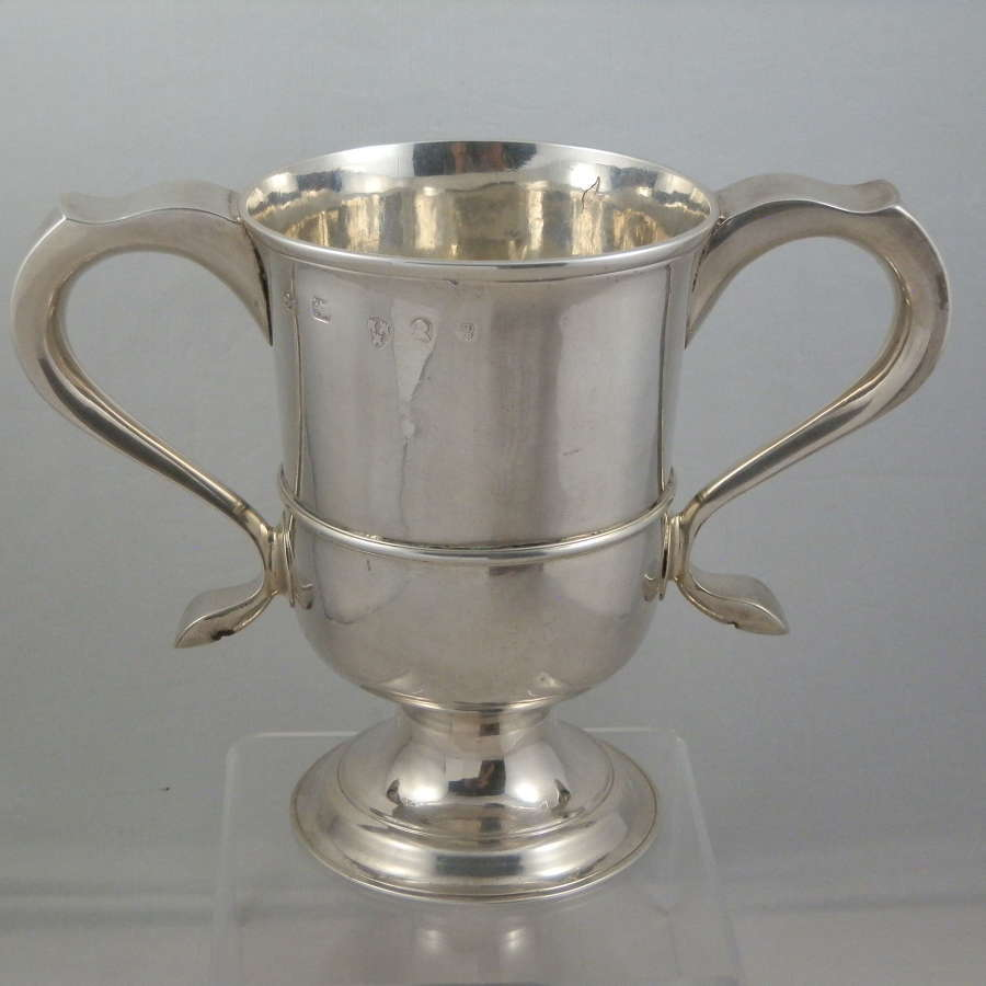 George III Newcastle silver loving cup, c.1780