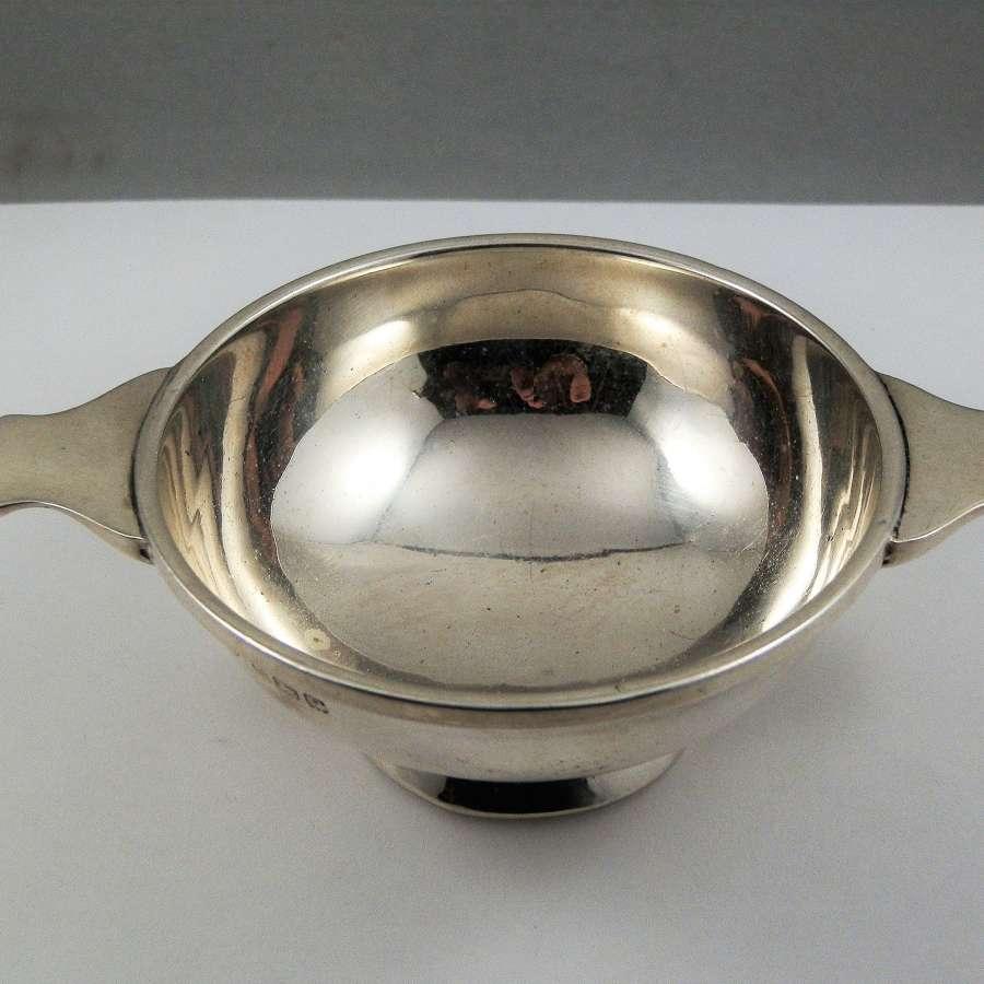 George VI silver quaich, Birmingham 1939
