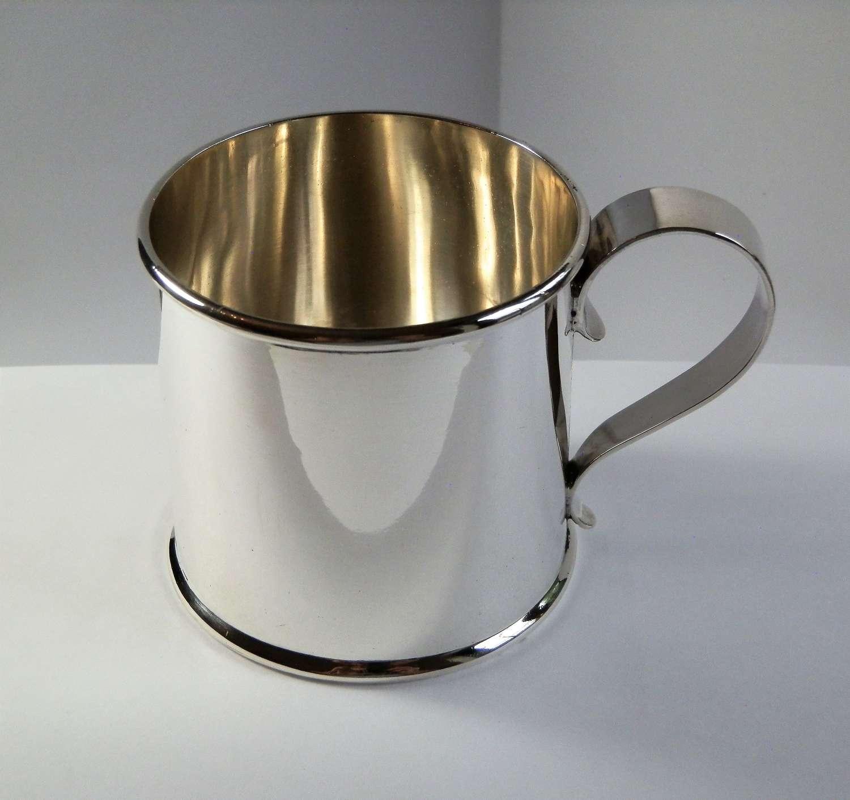 Edwardian Scottish silver cup, Glasgow 1903