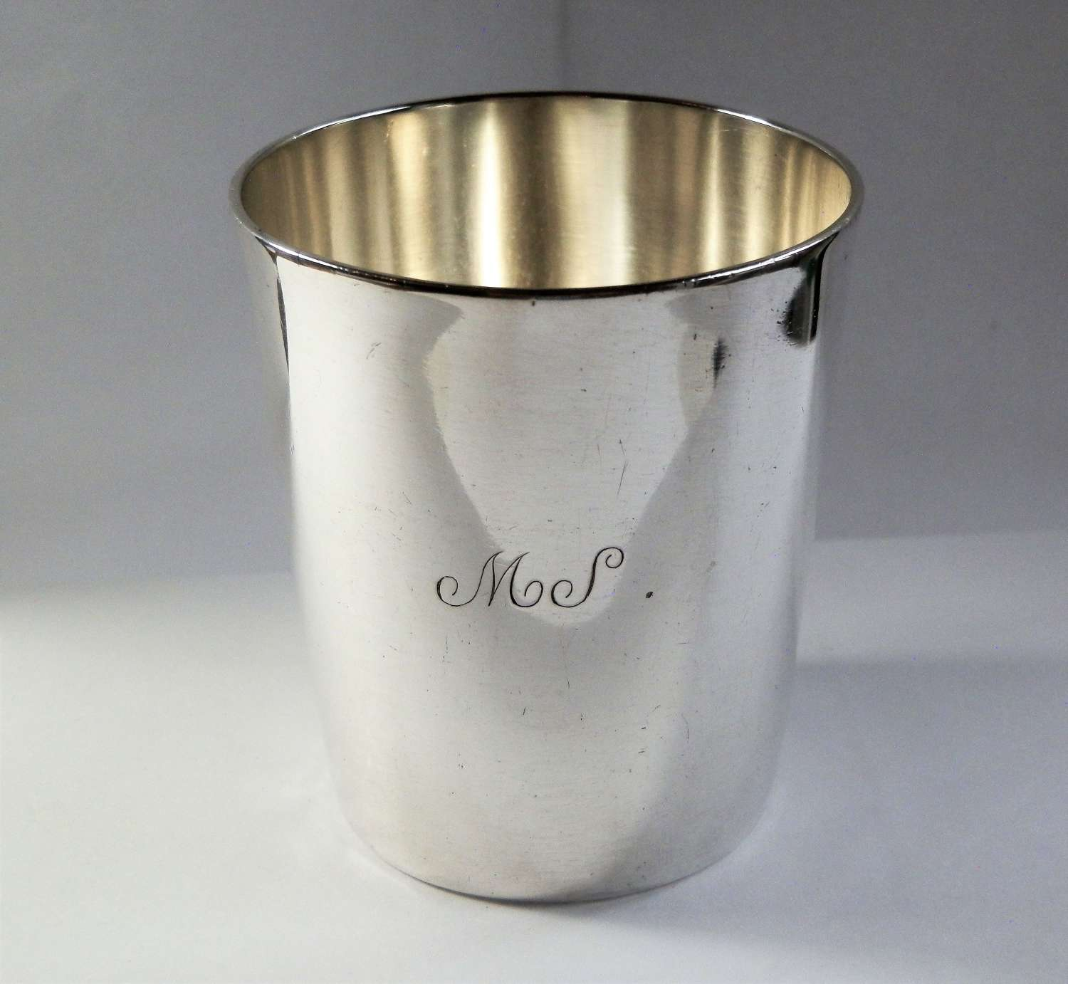 Scottish provincial silver beaker, Perth c.1791