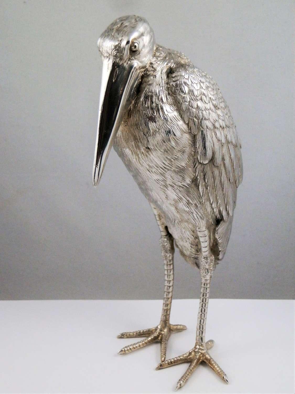 Nereshiemer silver imported Maribau stork. London 1913