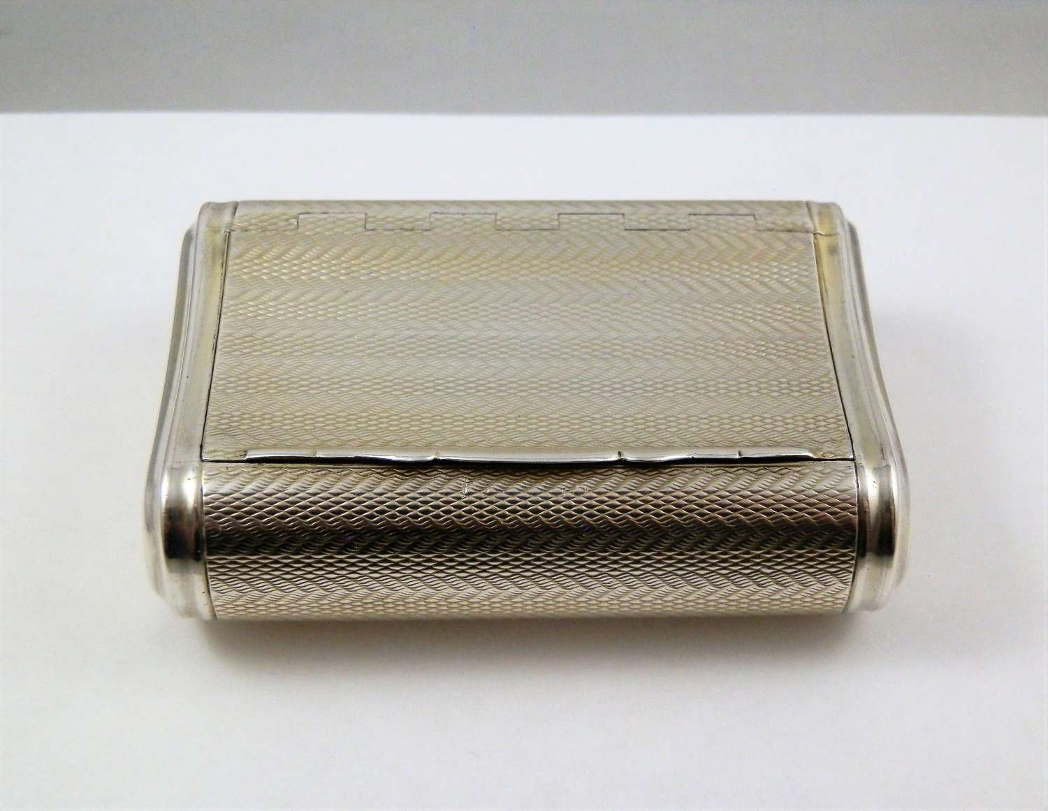 George III silver gilt pocket snuff box, 1813