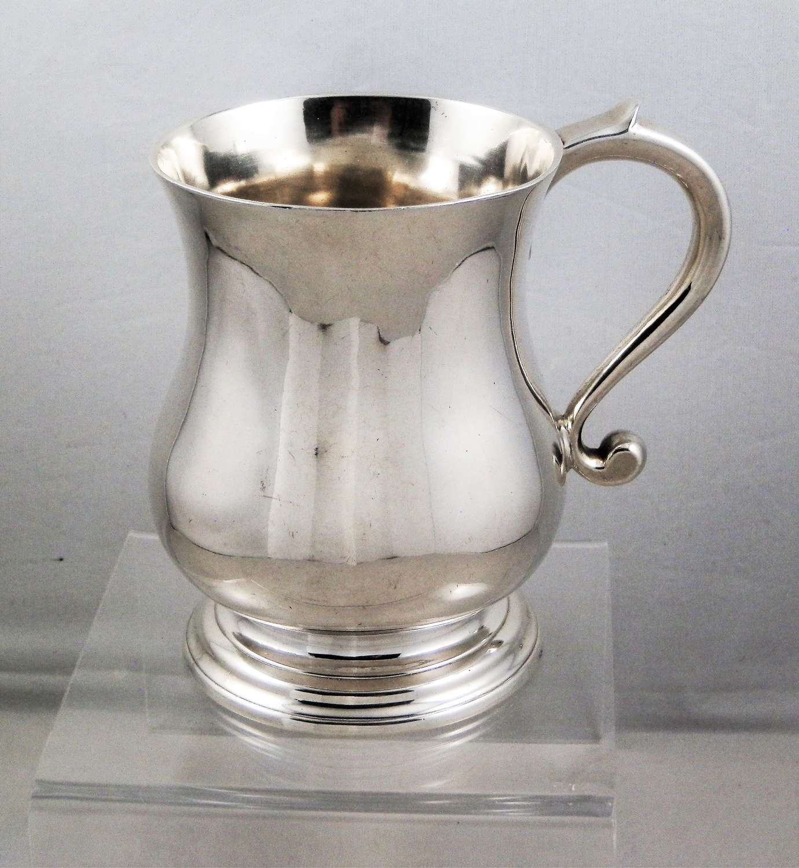 George II Scottish silver mug, James Mitchell 1746