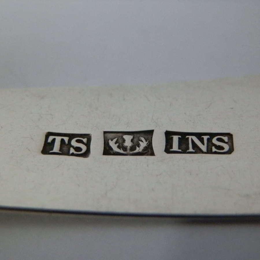 Scottish Provincial silver ladle, Inverness, c.1804, Thomas Stewart