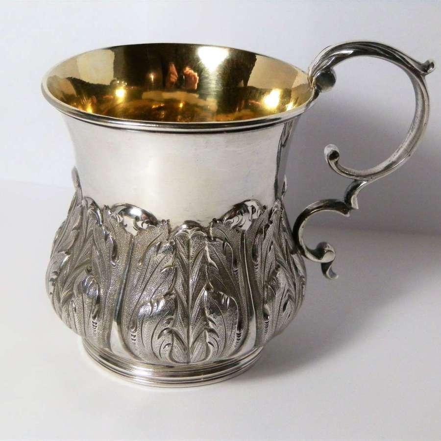 George III silver cup, William Eaton, London 1825