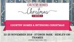 COUNTRY HOMES & INTERIORS FAIR, Stonor Park 22 - 25 Nov 2018