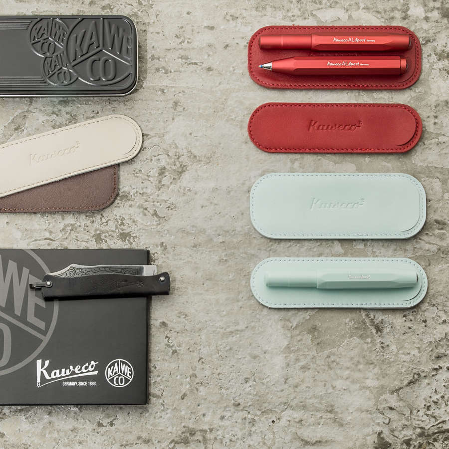 Kaweco Leather Pouches for Pens and Pencils
