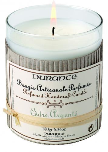 Scented Candle - Silver Cedar 180gr
