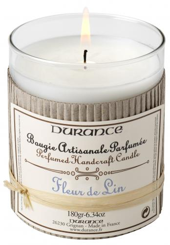 Scented Candle - Linen Flower 180gr