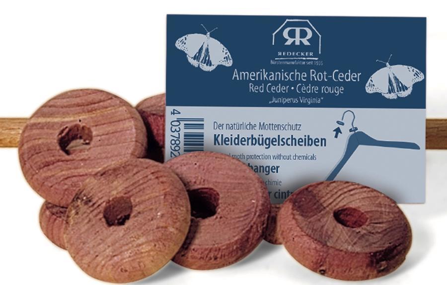 Red Cedar Clothes Hanger Discs