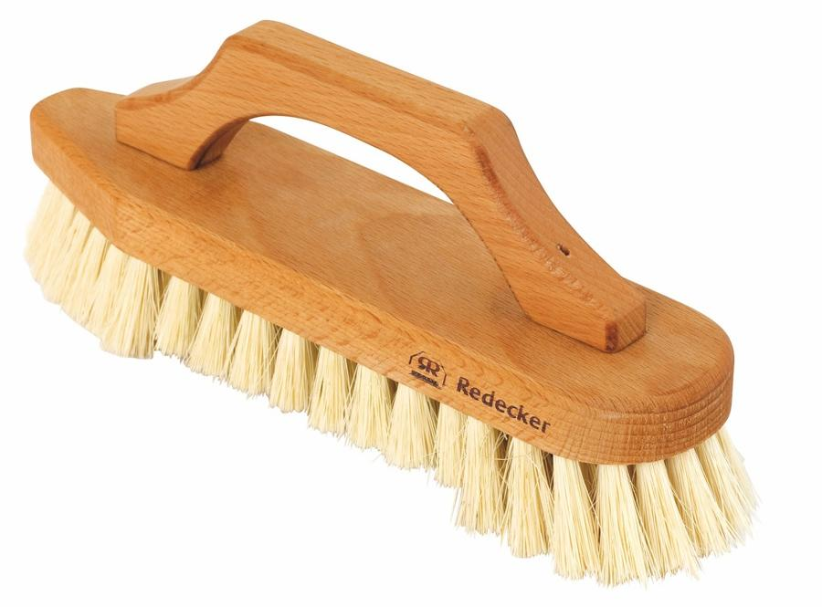 Scrub Brush with Bow - Shaped Handle