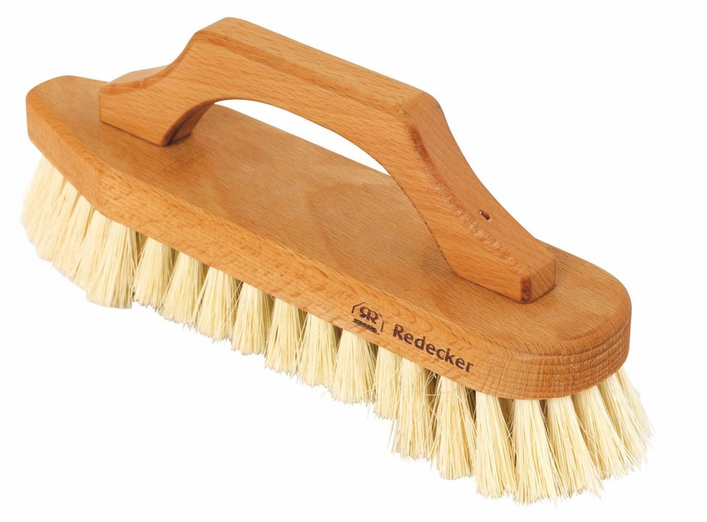 Scrub Brush with Bow - Shaped Handle
