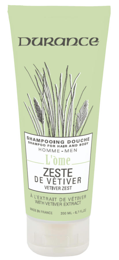 Shampoo for Hair & Body - Vetiver Zest