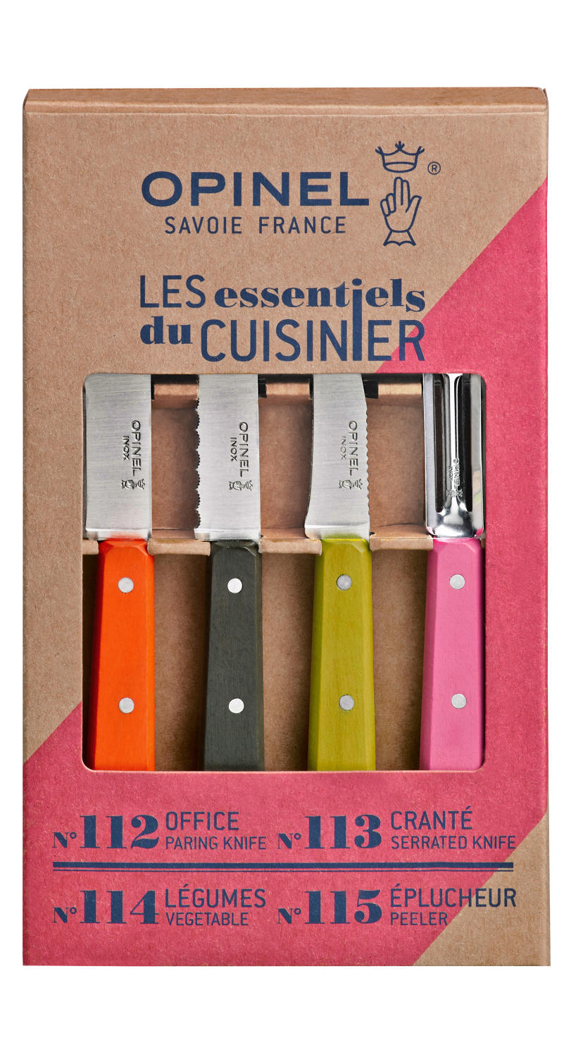 Les Essentiels Mixed Kitchen Set - Fifties colours