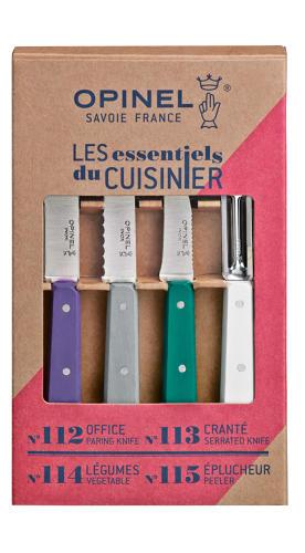 Les Essentiels Mixed Kitchen Set - Art Deco Colours
