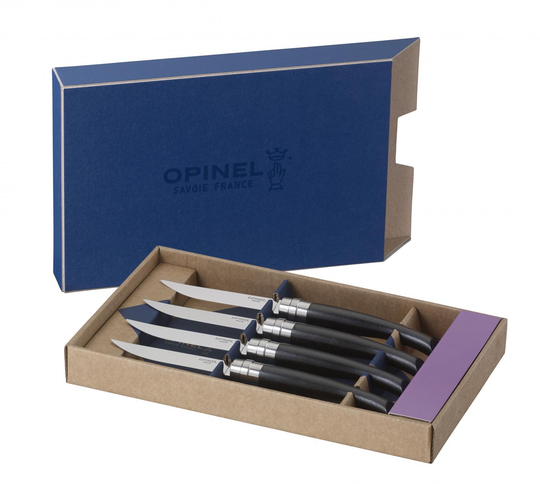 Set of 4 Table Knives - Ebony