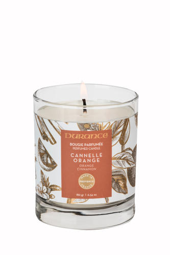 Orange & Cinnamon - Candle 180gr