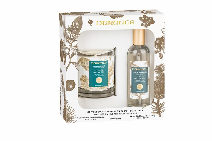 Perfumed candle 6.34oz & Room spray 3.3 fl.oz Under the pine tree
