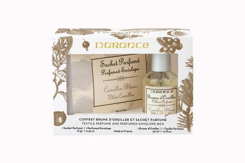 Pillow perfume 1.7fl.oz & Perfumed envelope White Camellia