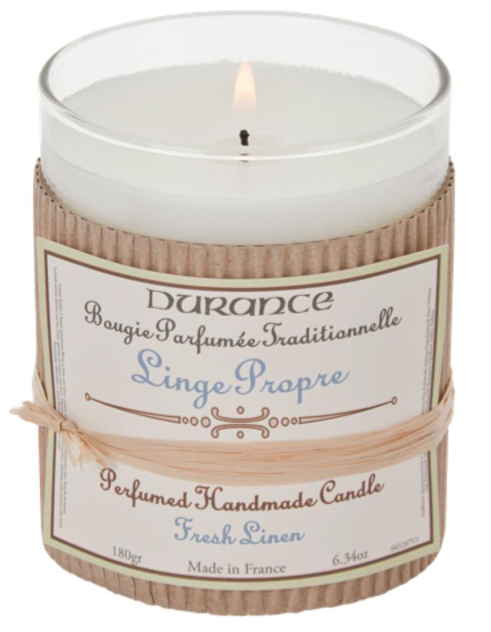 Scented Candle - Fresh Linen 180gr