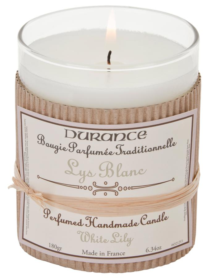 Scented Candle - White lily 180gr