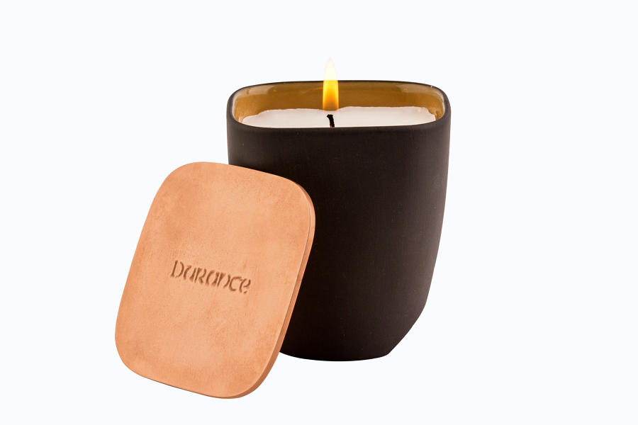 Natural Wax Scented Candle - Golden Fire 190gr