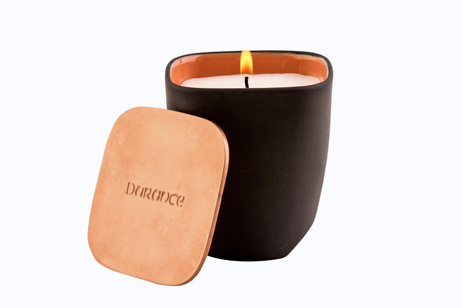 Natural Wax Scented Candle - Coffee and Croissant