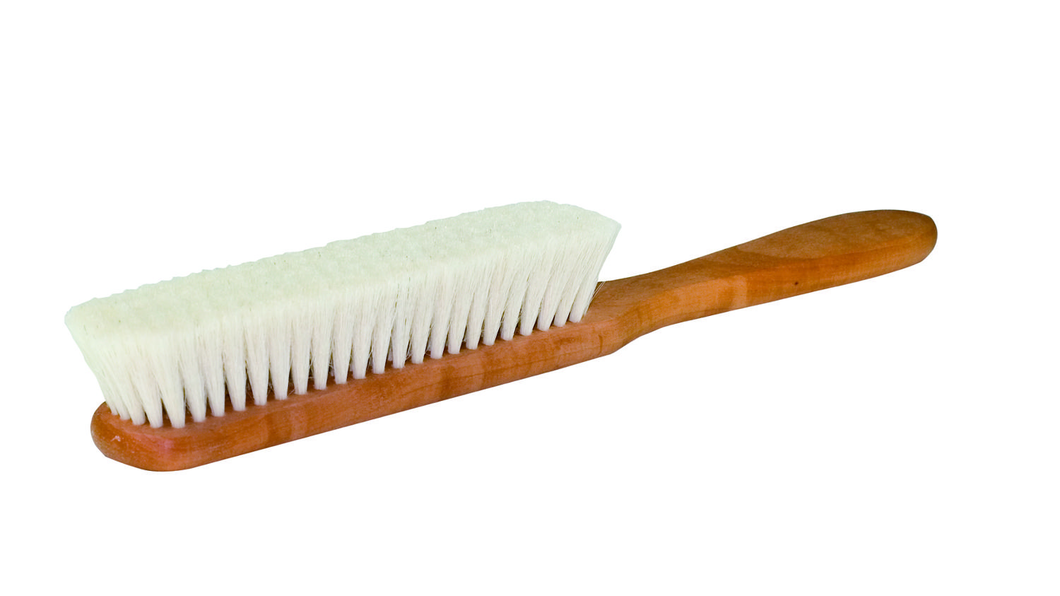 Book Brush - Goat hair and oiled pearwood
