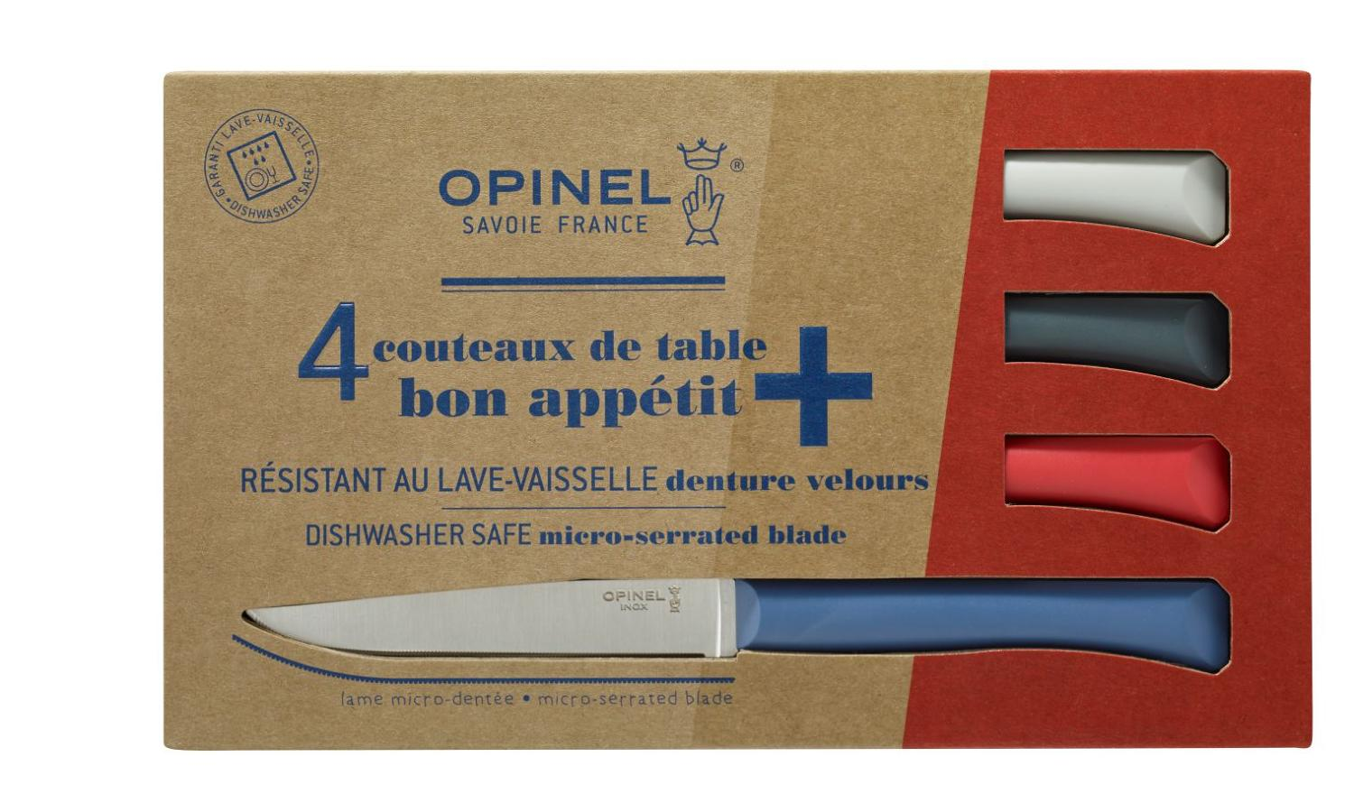 Bon Appétit - Serrated steak knives with polymer handles - Colour Mix