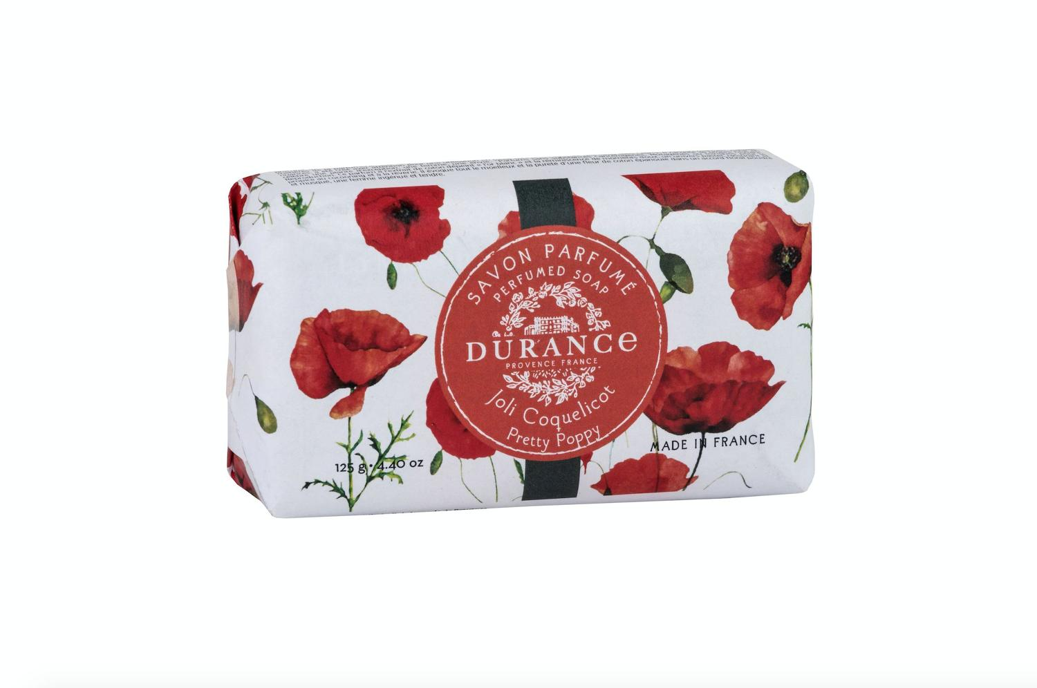 Perfumed Soap 125g Pretty Poppy