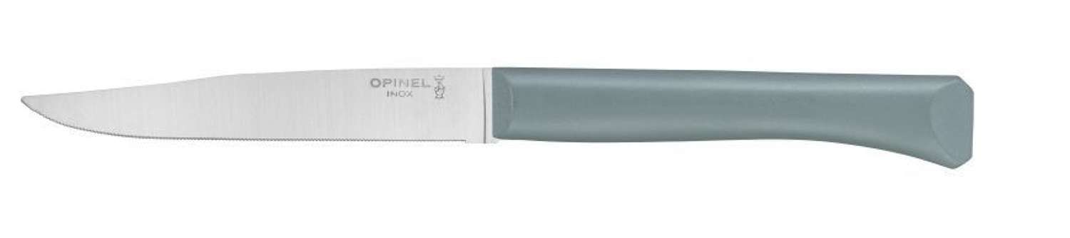 Bon Apetit - Serrated steak knife with polymer handle - Sage Green