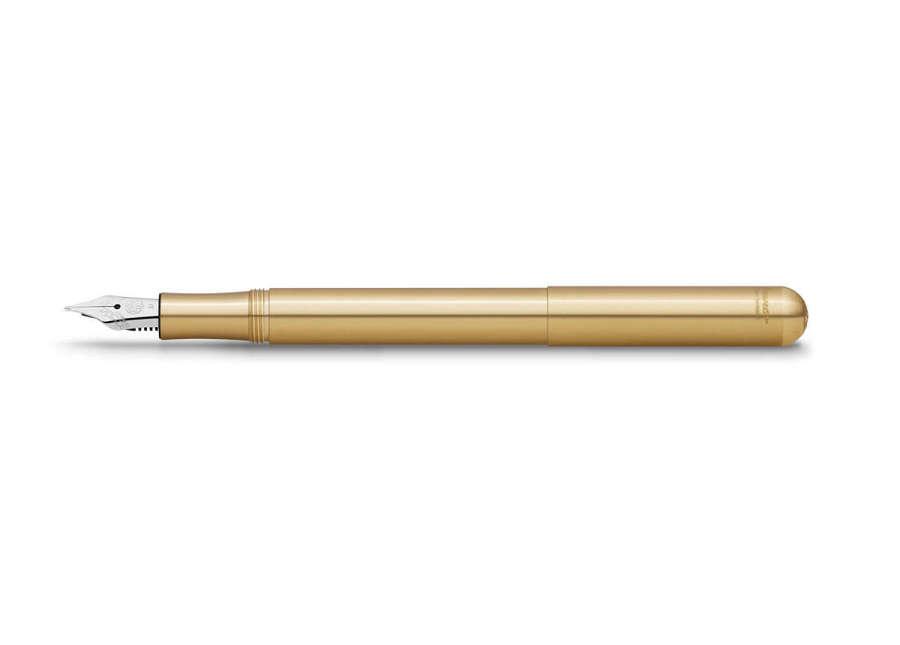 Kaweco Liliput Fountain Pen - Brass - Medium Nib