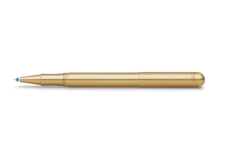 Kaweco Liliput ballpoint pen with Cap - Brass (100% Eco Brass)