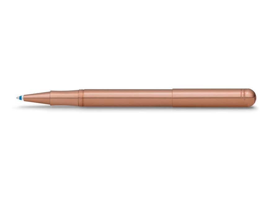 Kaweco Liliput ballpoint pen with cap - Copper (antiviral/antibac)