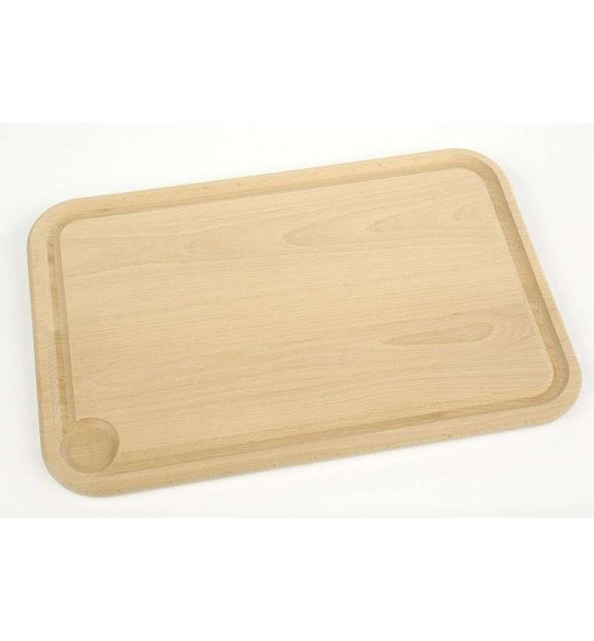 Berard Beech Carving Board with Grooved Edge - Large