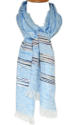 Blue Handloom Scarf - picture 1