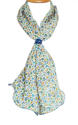 Ditsy Paisley Crepe Silk Scarf - picture 1
