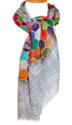 Hexi Digital Print Scarf - picture 1