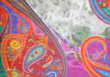Paisley Digital Print Scarf - picture 2