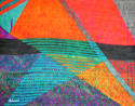 Abstract Digital Print Scarf - picture 2