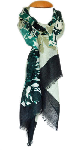 Forest Floral Scarf