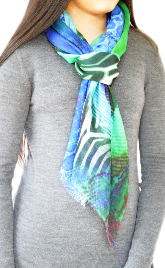 Emerald Signature Scarf