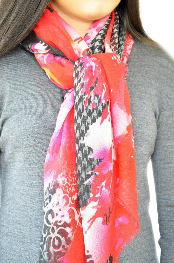 Ruby Signature Scarf