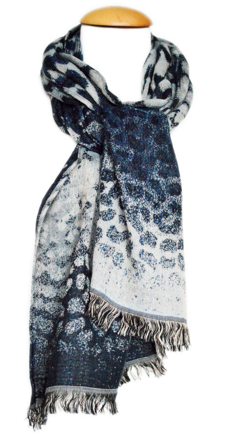 Animal Print Reversible Scarf
