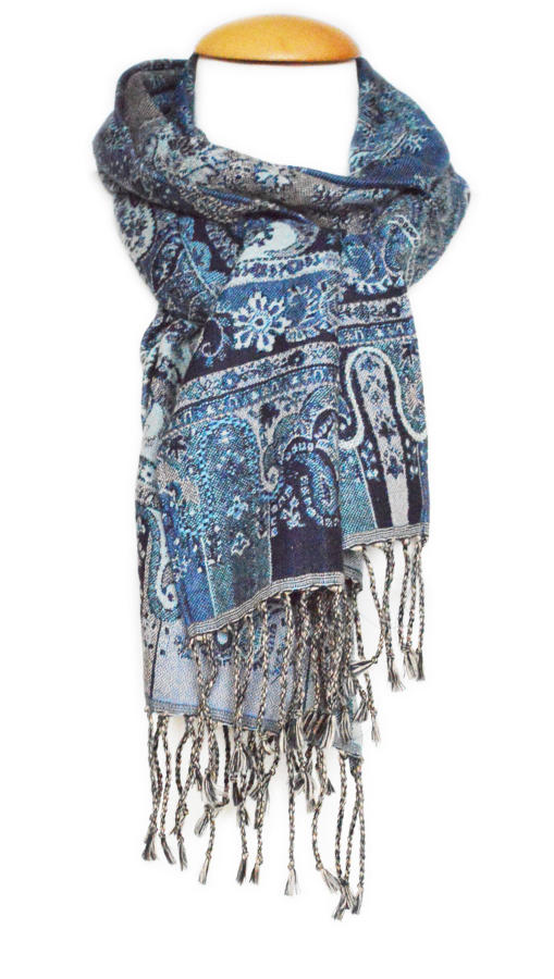Paisley Tapestry Scarf