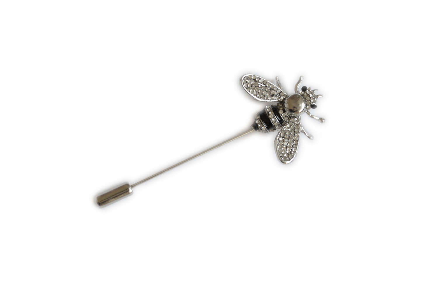 Diamante & Enamel Bee Pin