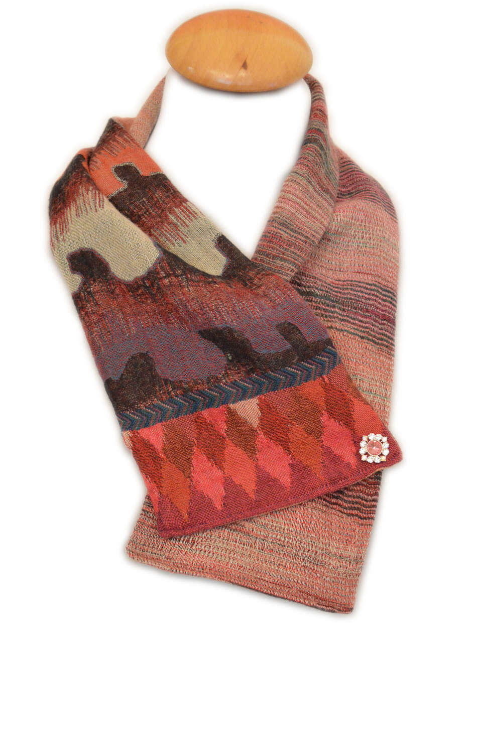 Neck Scarf - Waves