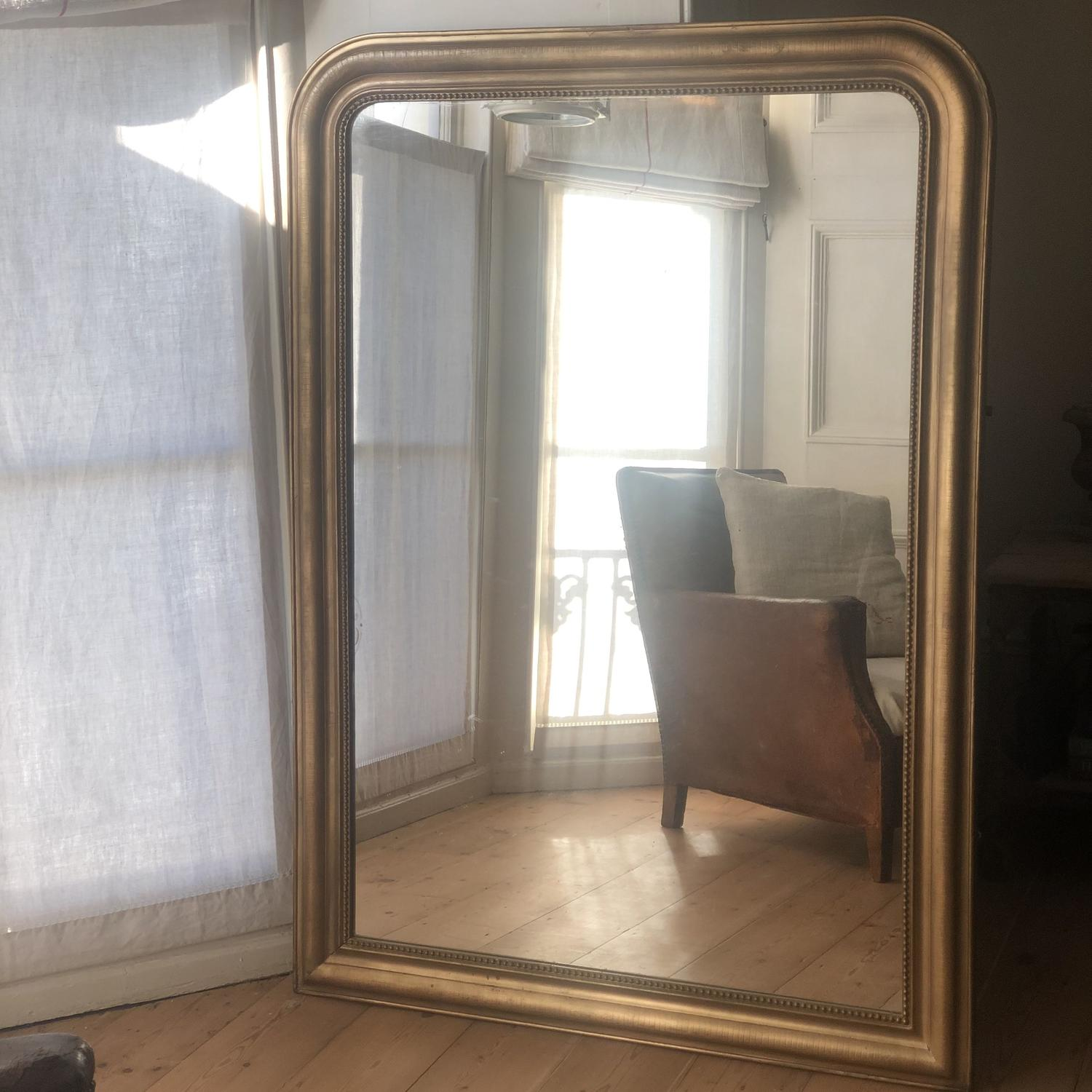 Large 19th century French Louis Philippe mirror