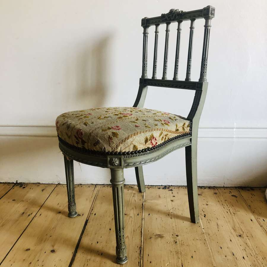 Antique French Louis XVI chair