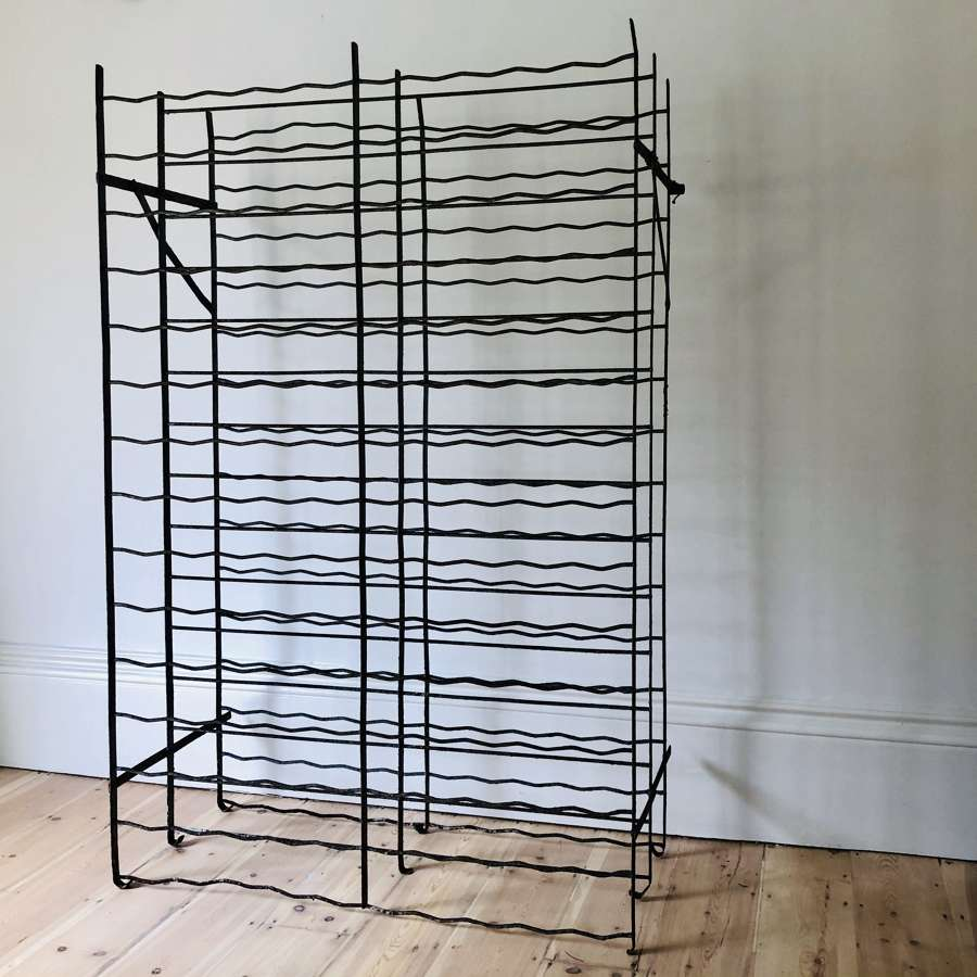 Antique French wine rack